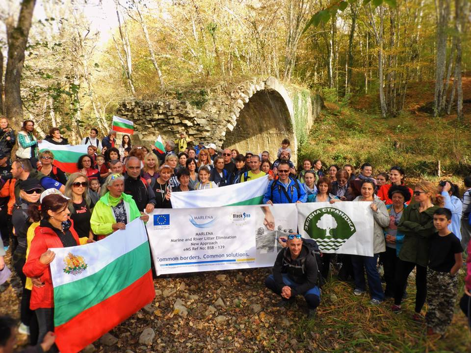 Green Strandja Association, Bulgaria presented in an original way the start of MARLENA project